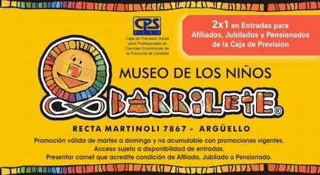 2×1 en Museo Barrilete