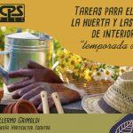 Jardinería – 4° Charla: «Arbustos de Invierno» – 2° Parte – Consultas: tallerjardineriacps@gmail.com