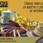 9° Charla de Jardinería – «Preparando el jardín para las fiestas» – 2° BLOQUE –